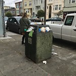 Garbage Containers at 2016 Balboa St
