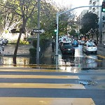 Flooding and Sewer Issues at Intersection of Franklin St & Golden Gate Ave