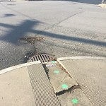 Curb or Sidewalk Issues at Intersection of Greenwich St & Laguna St