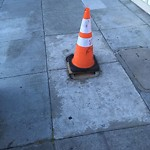 Curb or Sidewalk Issues at 4967 Mission St
