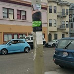 Illegal Postings at Intersection of 24th St & Utah St