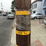 Illegal Postings at 2590 28th Ave
