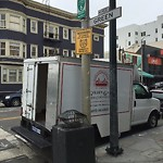 Illegal Postings at Intersection of Green St & Polk St