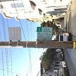 Parking and Traffic Sign Repair at 835 Hampshire St Mission District