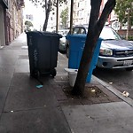 Garbage Containers at 1051 Bush St