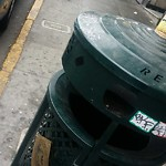 Garbage Containers at Intersection of Ross Aly & Washington St