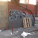 Graffiti at 1238 Stockton St