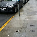 Curb or Sidewalk Issues at 833 Kearny St