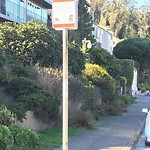 Illegal Postings at Intersection of Glenbrook Ave & Mountain Spring Ave