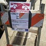 Parking and Traffic Sign Repair at 1443 Powell St
