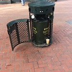 Garbage Containers at 757 Market St