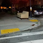 Street or Sidewalk Cleaning at Intersection of La Salle Ave & Newhall St