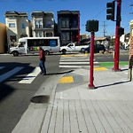 Parking and Traffic Sign Repair at Intersection of 23rd St & Potrero Ave