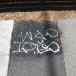Graffiti Abatement - Report at Intersection of Kirkham St & Sunset Blvd