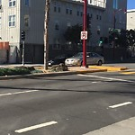Parking and Traffic Sign Repair at Intersection of 25th St & Potrero Ave
