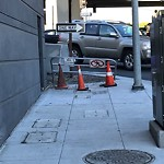 Parking and Traffic Sign Repair at Intersection of Indiana St & Mariposa St