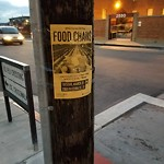 Illegal Postings at Intersection of 23rd St & Utah St