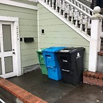 Garbage Containers at 227 Roosevelt Way
