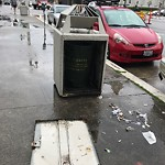 Garbage Containers at Intersection of Grove St & Van Ness Ave