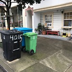 Garbage Containers at 4025 Balboa St