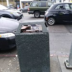Garbage Containers at Intersection of 16th St & South Van Ness Ave