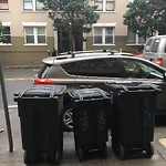 Garbage Containers at 644 Ellis St