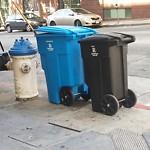 Garbage Containers at Intersection of Ellis St & Taylor St