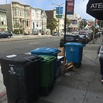 Garbage Containers at 1945 DIVISADERO ST