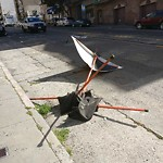 Parking and Traffic Sign Repair at 1055 POWELL ST