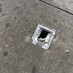 Pothole or Street Issues at 603 JACKSON ST