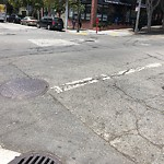 Pothole or Street Issues at Intersection of Fillmore St & Sutter St