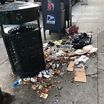 Garbage Containers at Intersection of 2nd St & Bryant St