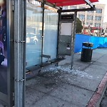 Damaged Public Property at 77 SOUTH VAN NESS AVE