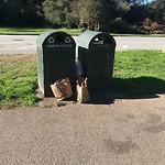 Garbage Containers at GGP 6th Ave Skate Area