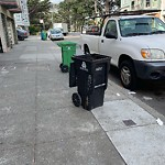 Garbage Containers at 3704 MISSION ST