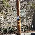 Illegal Postings at Intersection of 24th St & Vermont St