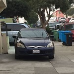 Blocked Driveway & Illegal Parking at 135 MADRID ST