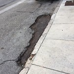 Pothole & Street Issues at 2906 BUCHANAN ST