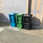 Garbage Containers at 842 BRAZIL AVE