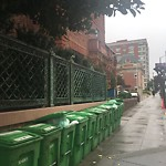 Garbage Containers at 2280 BROADWAY
