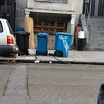 Garbage Containers at 2497 FOLSOM ST