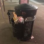 Garbage Containers at 7501 GEARY BLVD