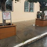 Parking & Traffic Sign Repair at 1740 CLEMENT ST