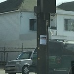 Illegal Postings at Intersection of 45th Ave & Judah St