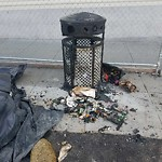 Garbage Containers at 1305 VAN NESS AVE
