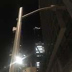 Streetlight Repair at 299 FREMONT ST