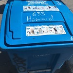 Garbage Containers at 301 Eddy St