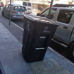Garbage Containers at 245 HYDE ST