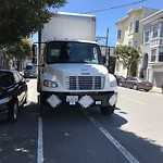 Blocked Driveway & Illegal Parking at 2360 POST ST