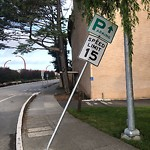 Parking & Traffic Sign Repair at 3301 Lyon St